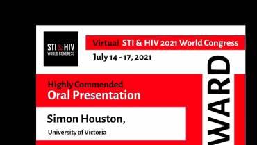 Congratulations Dr. Simon Houston!